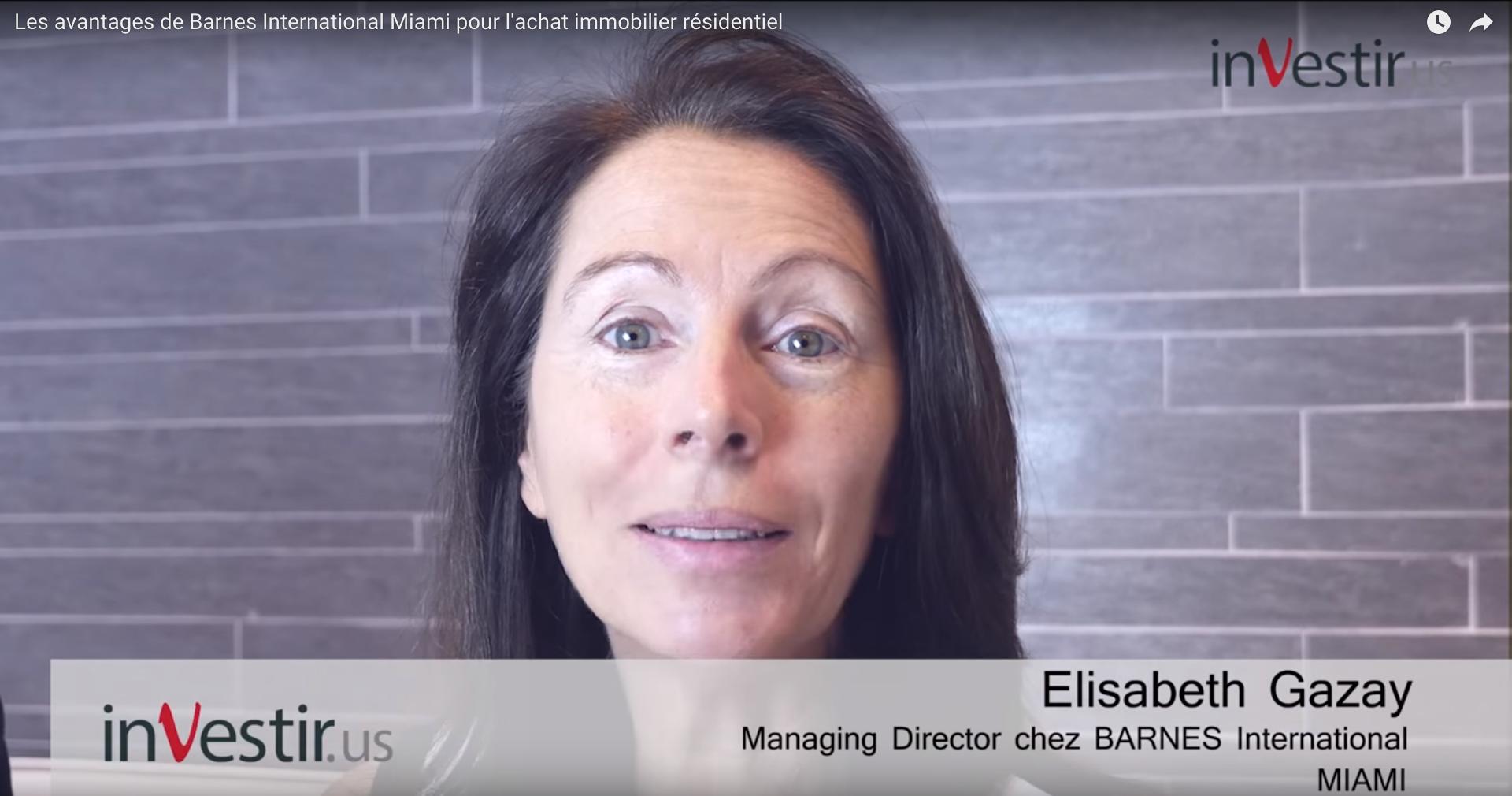 Les avantages de Barnes International Miami pour l'achat immobilier résidentiel – Investir US
