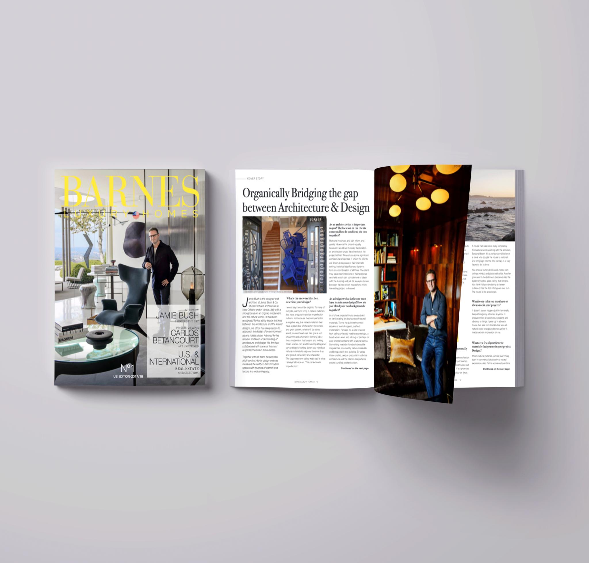 Barnes Luxury Homes : l'édition américaine est lancée !