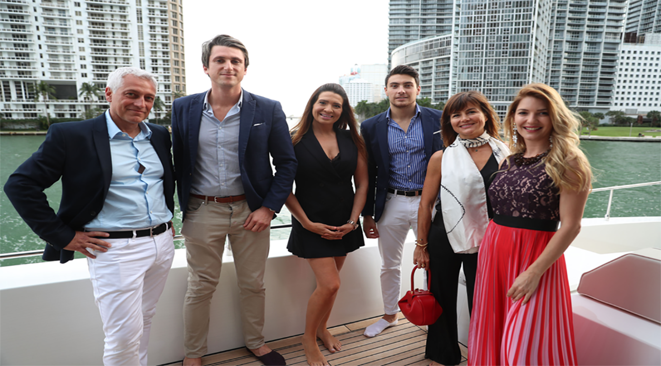 Barnes Miami, Barnes Yachts and Aston Martin Residences gathered for Yacht show